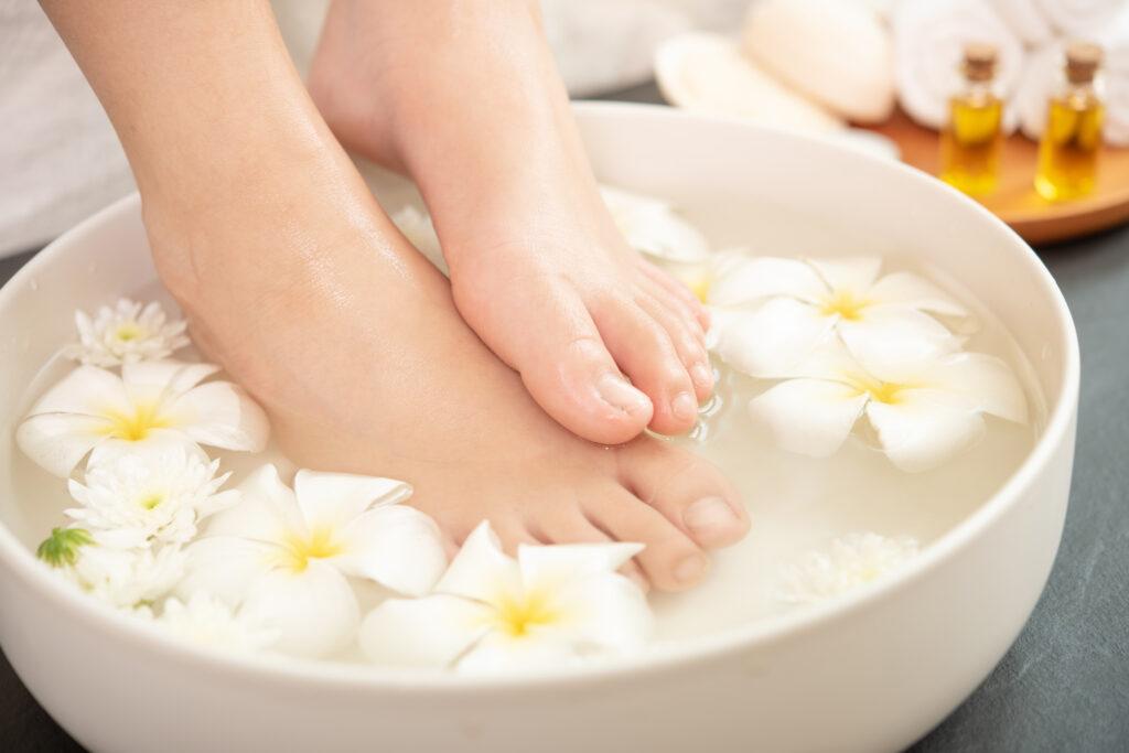 ล้างเท้า